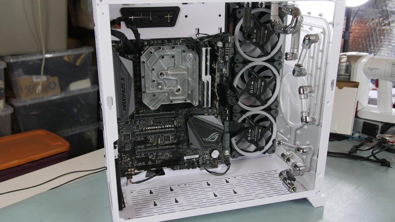 4K - Lian Li PC-011 Dynamic Gaming RGB Build -Part 1