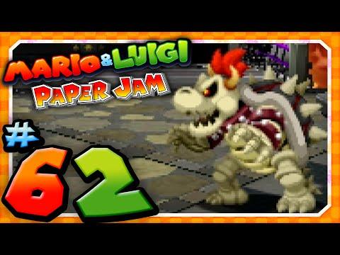 Mario And Luigi Paper Jam Finale Dry Bowser Boss Battle Youtube