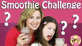 SMOOTHIE CHALLENGE with Warheads! Charli