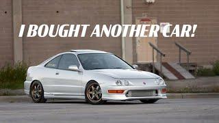 I BOUGHT A NEW CAR, 2001 ACURA INTEGRA GSR