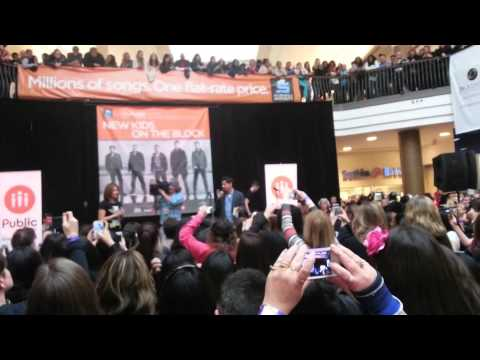 New Kids On The Block Event- Pickering Town Centre