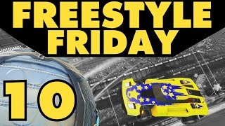 Rocket League | Freestyle Friday 10 | Cool Goals & Funny Moments!