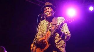 Oliver Mtukudzi performing at East Africa Vibes Concert in Dar es salaam