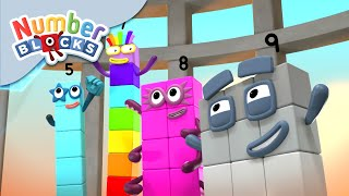 Numberblocks - Race Against Time! | Learn to Count