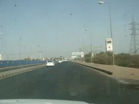 Entering Khartoum