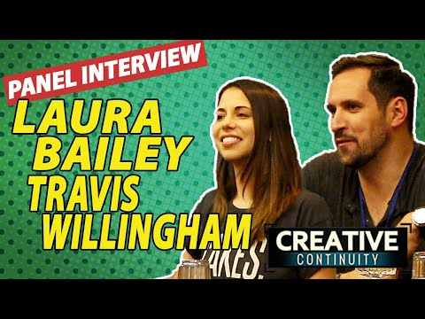 Fullmetal Alchemist voice actors: Laura Bailey & Travis Willingham Round Table  Creative Continuity