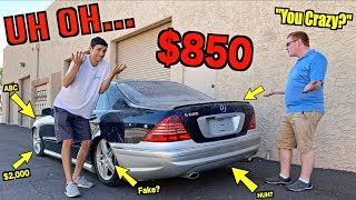AMG Expert Tells Me EVERYTHING WRONG With My $850 V12 Mercedes S600!!