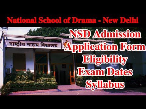 राष्ट्रीय नाट्य विद्यालय (NSD) में एडमिशन के लिए ऐसे करें आवेदन, देखें वीडियो