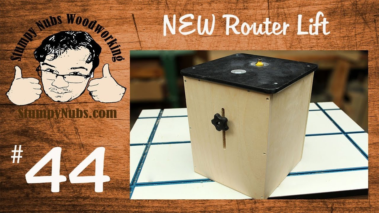 Snw44 build your own feature loaded router lift also works as a snw44 build your own feature loaded router lift also works as a mini router table youtube greentooth