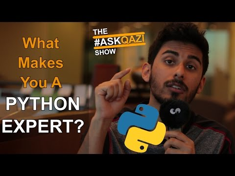 What Makes You an Expert in Python? – #AskQazi 7