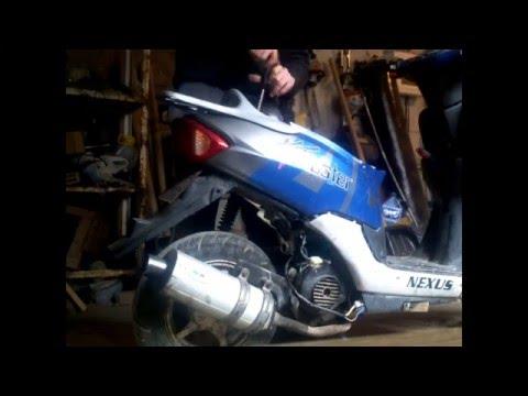 Как выставить зажигание на скутере 4т 50 куб видео