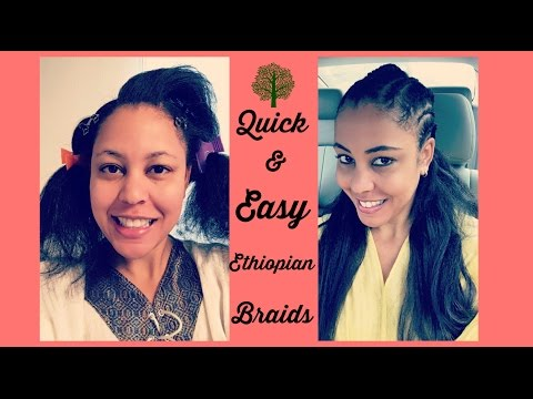 How To Look: Habesha Braids