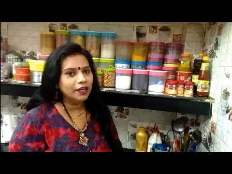 Non Modular kitchen organization ideas| Indian small ...