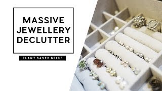 DECLUTTERING MY JEWELLERY COLLECTION // PLANT BASED BRIDE
