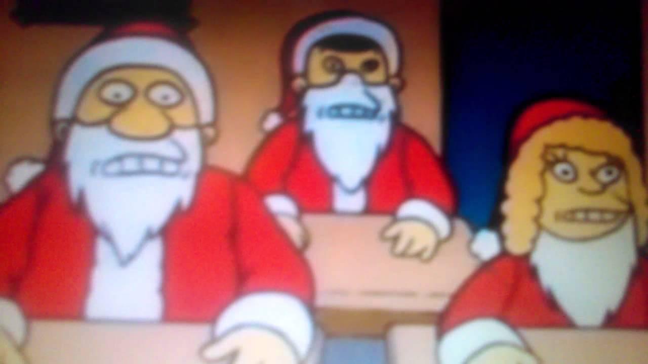 Christmas Santa Claus give love on Christmas day - YouTube