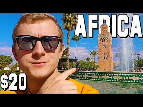 I took a $20 flight to Africa & this is what happened