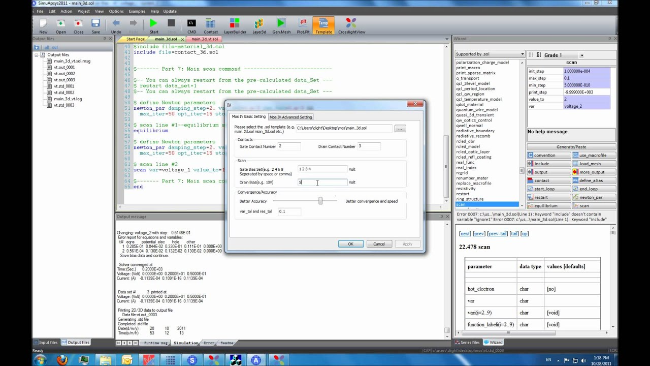 3d Tcad Tutorial For Semiconductor Process And Device