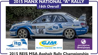 "Richard Clews & Carl Williamson | St. Marks 2 | Manx National ""A"" Rally 2015"