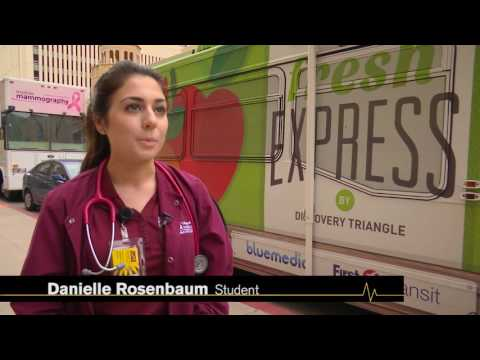 Fresh Express bus provides fruit/veg. CONHI adds the health care.