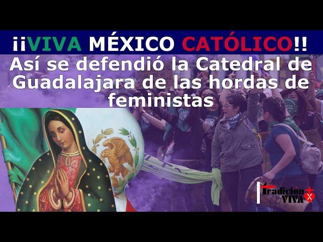 Así se defienden los #CATÓLICOS #MEXICANOS