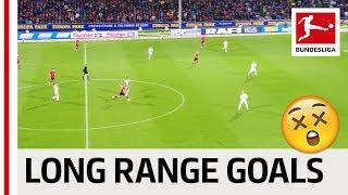 Top 10 Long-Range Goals 2018/19 - Alaba, Piszczek and Co.