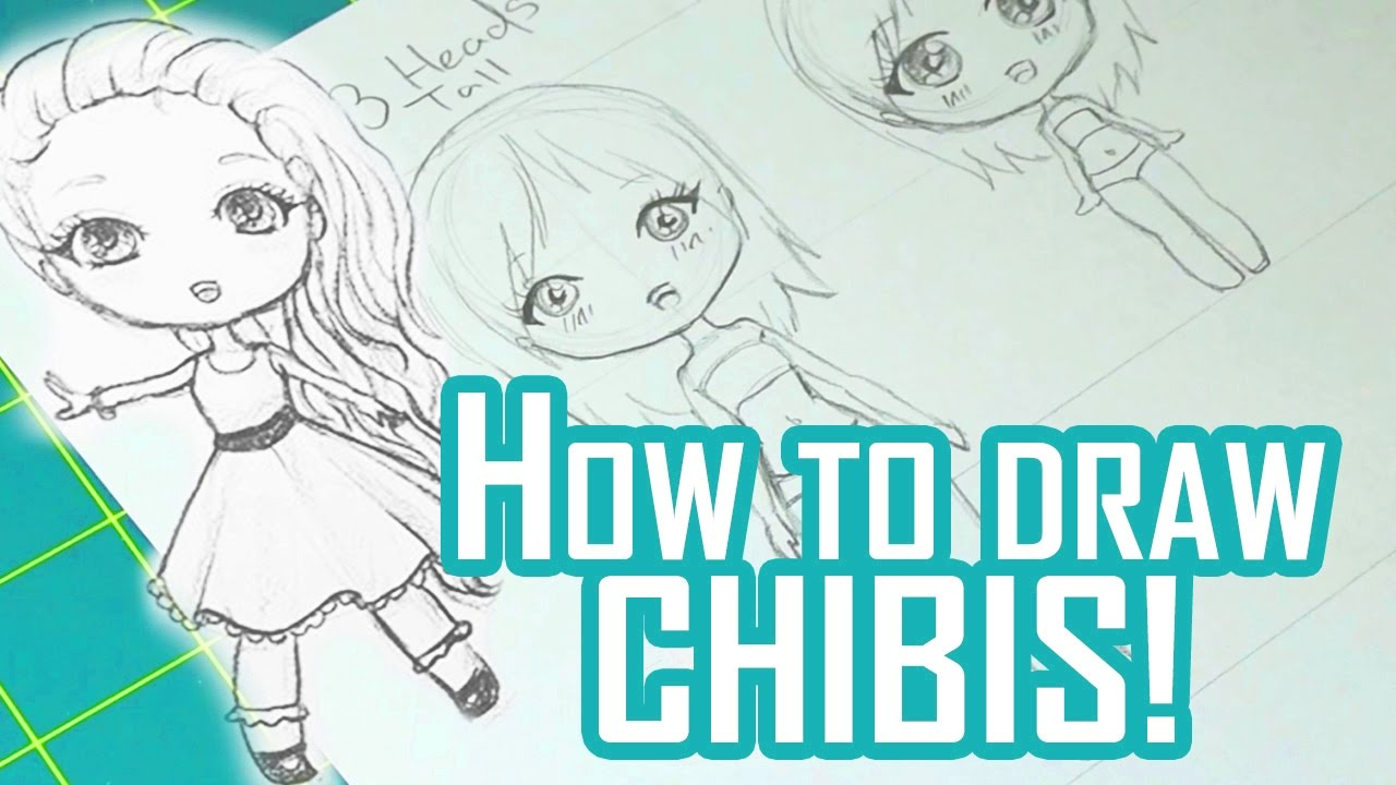 How to draw chibis youtube for How to make doodle