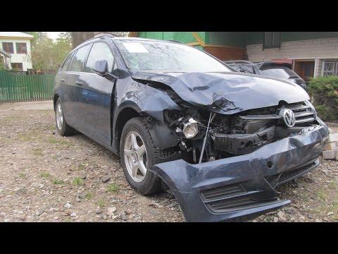 VW golf 7. Body repair. Ремонт кузова.