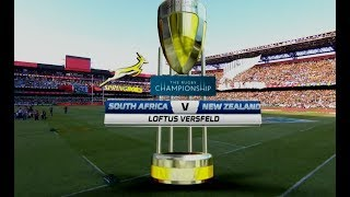 Rugby Championship | South Africa vs New Zealand | Highlights