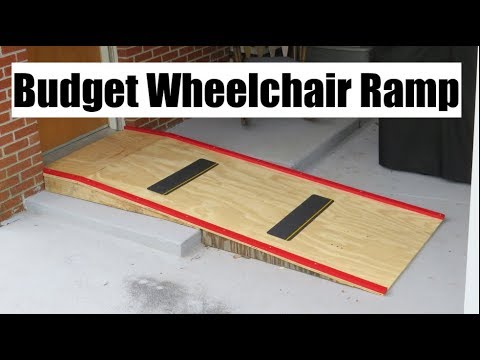 Budget Wheelchair Ramp