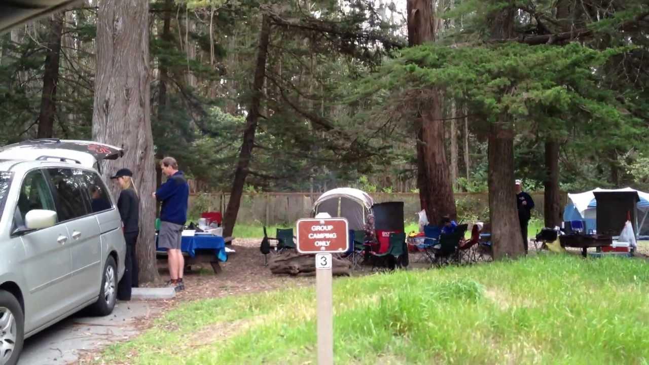 New Brighton Beach Group Campsite 2 Mov