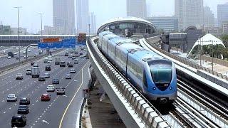 Dubai Metro Journey - Side Scene