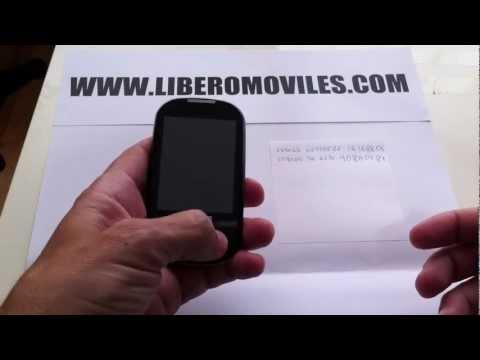 Liberar y quitar el Phone Freeze en el Samsung Corby S3650