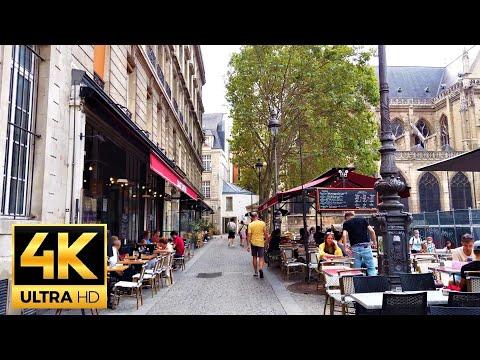 Walk at quartier Le Marais - 🇫🇷 Paris 2020 🇫🇷 - 4K 60FPS Ultra HD