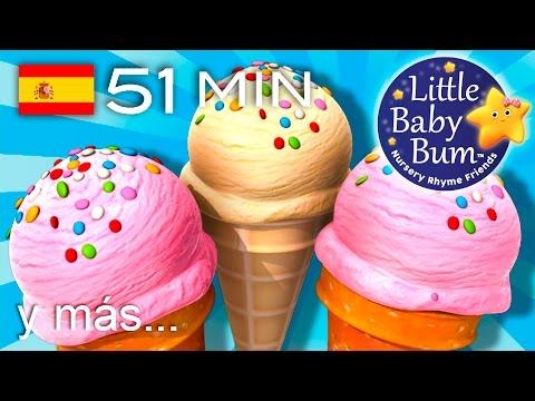 La canción de los helados | Y muchas más canciones infantiles | ¡LittleBabyBum!