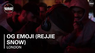 OG Emoji (Rejjie Snow) Boiler Room London DJ Set