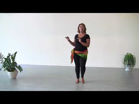 African Dance Movement, Step 3, Hip Bumps, StepFlix Lessons