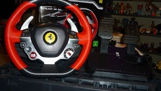 Thrustmaster XBOX ONE Ferrari 458 Spider Wheel Unboxing & Set-up and Review