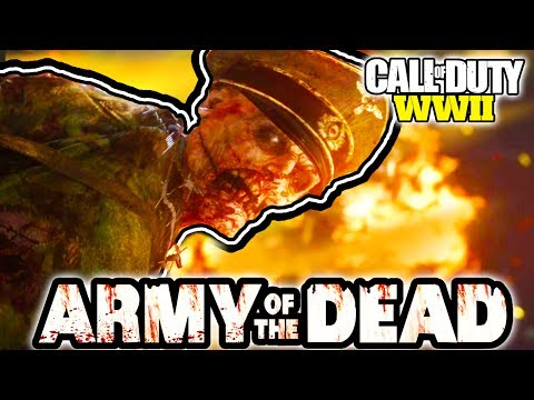 ZOMBIES REVEAL!! COD W'W'2 - ARMY OF THE DEAD LIVE REVEAL STREAM! | CALL OF DUTY W'W'2