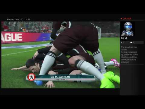 PES2017: Manchester United vs Barcelona (Superstar + Advanced Passing/Shooting)