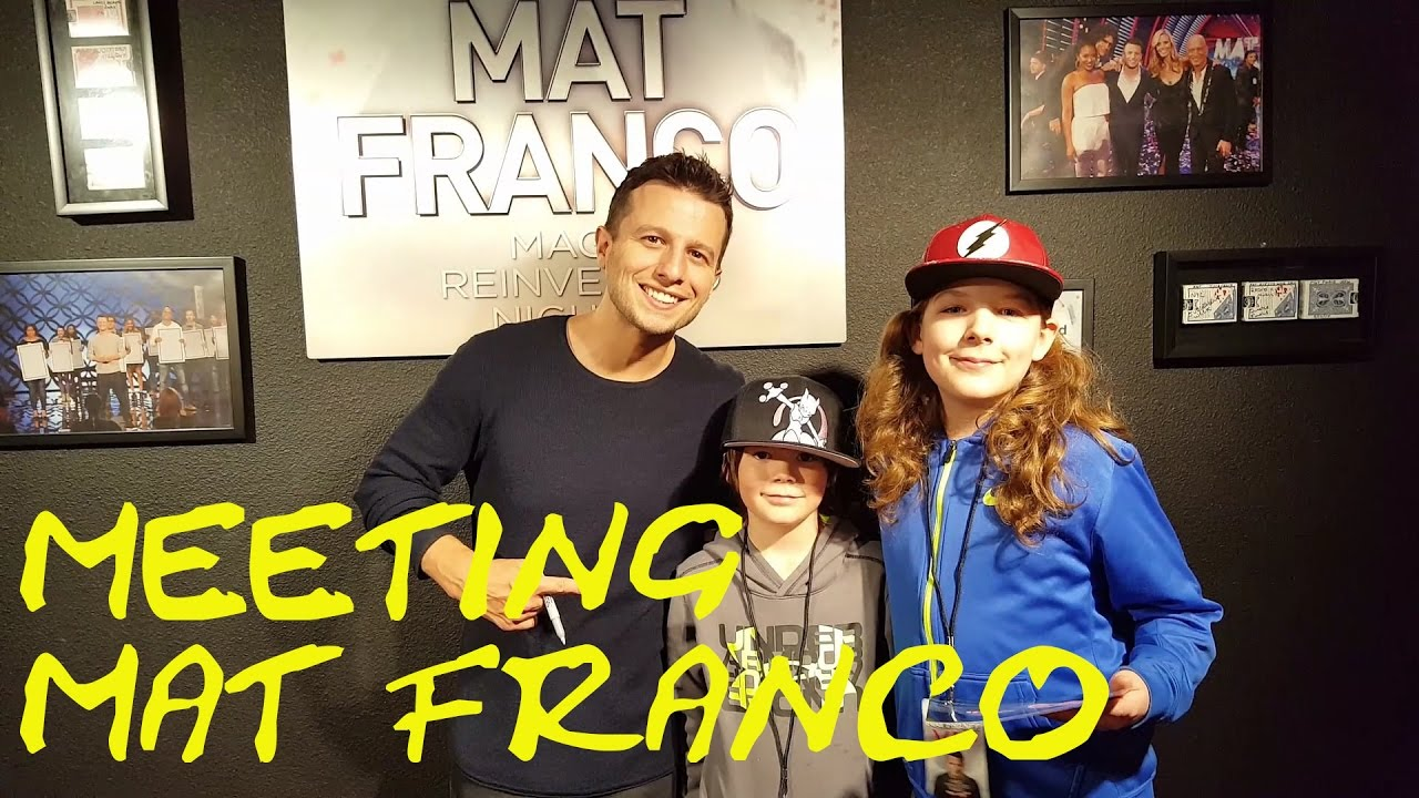 Meet And Greet With Mat Franco At The Linq Hotel And Casino Feb