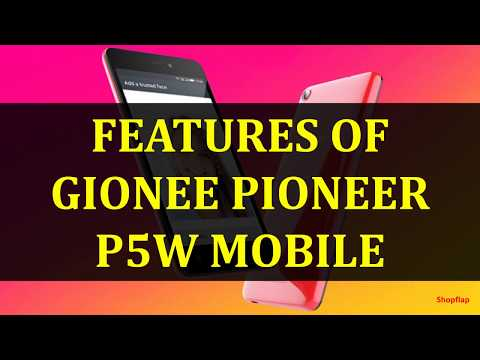 Gionee Pioneer P5W Video clips - PhoneArena