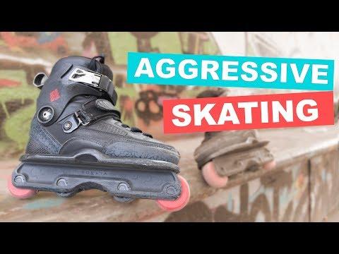 I TRIED AGGRESSIVE SKATING