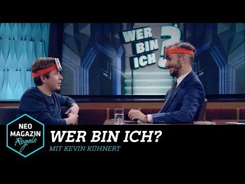 Wer bin ich? mit Kevin Kühnert   NEO MAGAZIN ROYALE mit Jan Böhmermann - ZDFneo