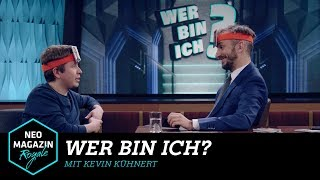 Wer bin ich? mit Kevin Kühnert | NEO MAGAZIN ROYALE mit Jan Böhmermann - ZDFneo