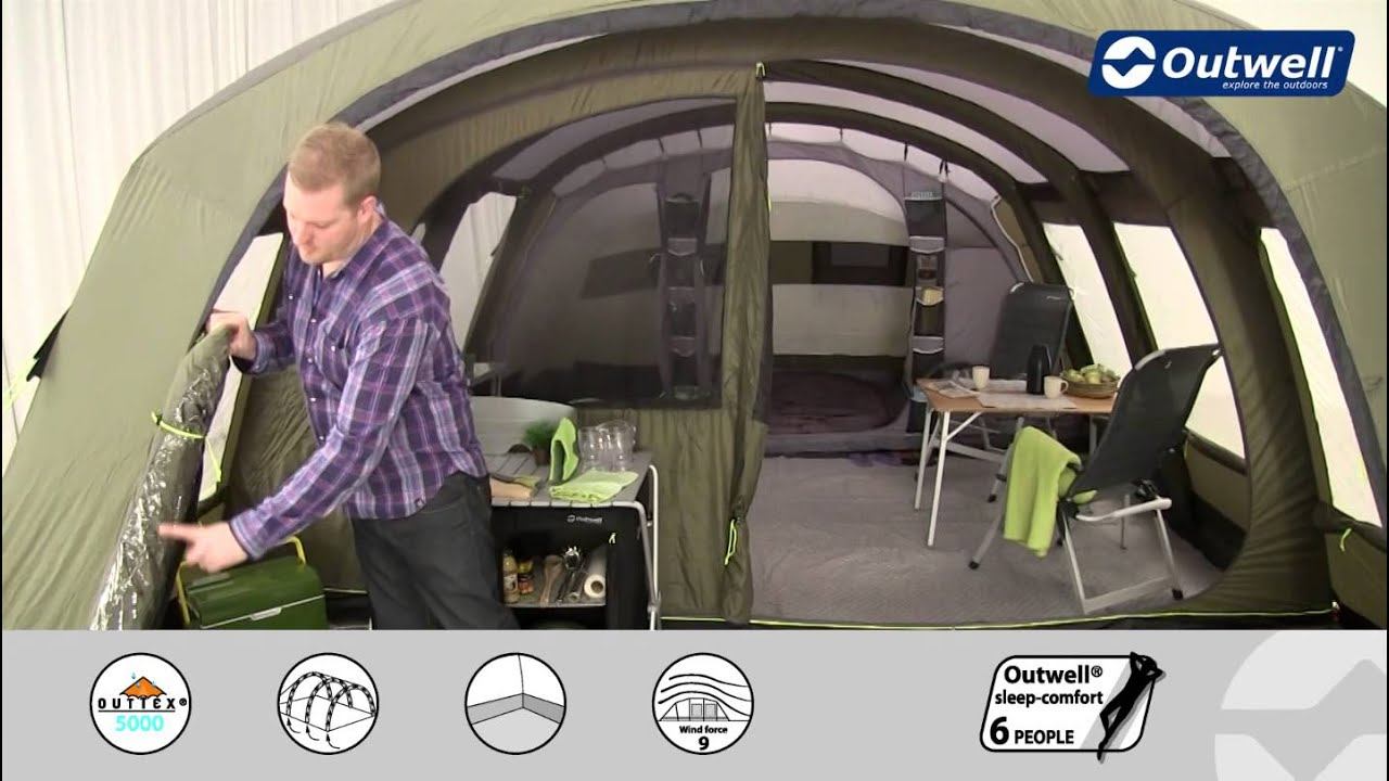 & Outwell Corvette XL Tent | Innovative Family Camping - YouTube