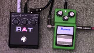 Boosting A Proco RAT Pedal With An Ibanez Tube Screamer - How To Tighten Up A RAT