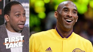Kobe wasn't joking when he called himself the GOAT - Stephen A. | First Take