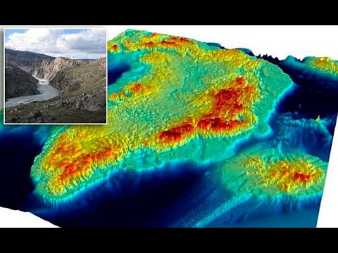 Visualisation shows Greenland without an ice sheet