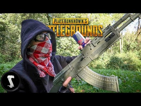 Recreating a BATTLEGROUNDS Game in REAL LIFE with Airsoft Guns
