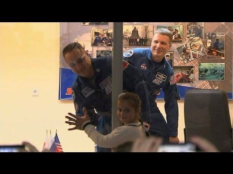 Expedition 42 news conference on eve of launch